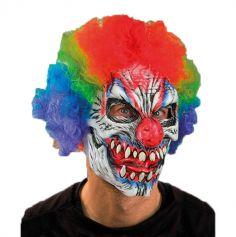 Masque Intégral en Latex de Monstre Clown