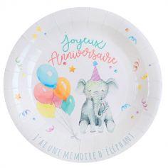 assiettes-anniversaire-zoo-party-enfant|jourdefete.com
