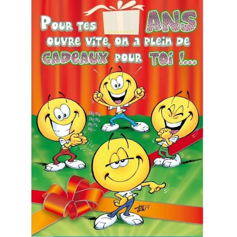 Carte D Anniversaire Maxi Format Avec Enveloppe Age A Personnaliser Jour De Fete Boutique Jour De Fete