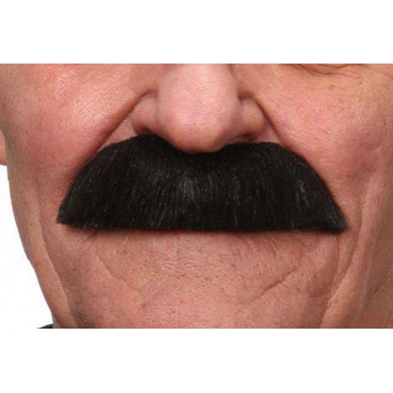 Taille Unique Moustache noire adulte 237392 taille