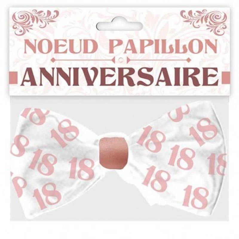 Nœud Papillon Anniversaire Femme Age Au Choix Jour De Fete 60 Anniversaire Par Age