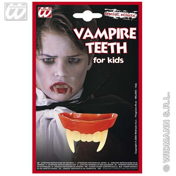 Vampire dents pour enfants halloween dracula fancy dress
