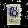 Carte d'Anniversaire Découp'âge Homme avec enveloppe - 18 ans | jourdefete.com