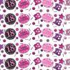 Trio de Confettis 18 Ans - Rose / Noir