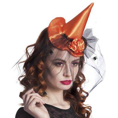 Serre-Tête Chapeau de Sorcière - Orange
