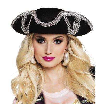 Chapeau de pirate tricorne - Adulte - porté