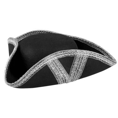 Chapeau de pirate tricorne - Adulte