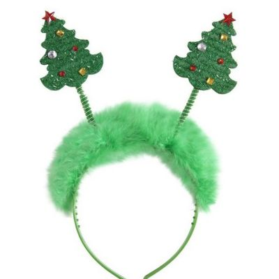 Serre-tête arbre de Noël - Taille Unique