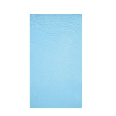 "Chemin de Table ""Glossy"" - Bleu Polaire"