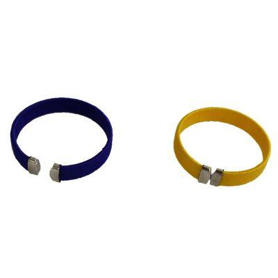 bracelet-supporter-jaune-bleu-rugby | jourdefete.com