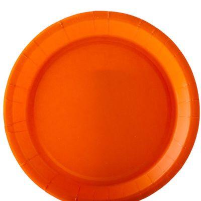 10 assiettes en carton recyclable couleur au choix | jourdefete.com