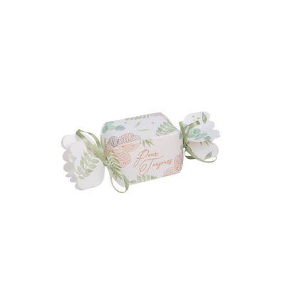 10 contenants papillotes collection botanique rose gold | jourdefete.com