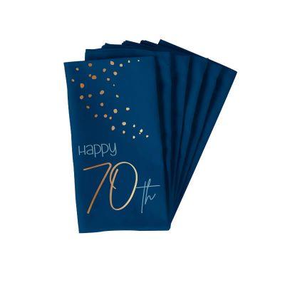 serviettes en papier pour anniversaire elegant | jourdefete.com