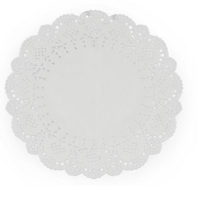 6 Napperons Papier Dentelle - 16.5 cm