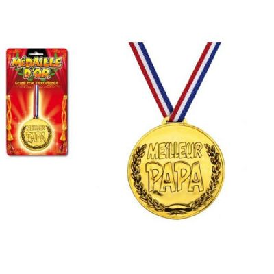 Médaille d'Or du Meilleur Papa