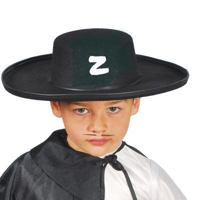 Chapeau de Zorro en Feutre Enfant