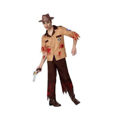 Déguisement de Shérif Zombie Homme - Taille au Choix