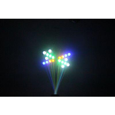"""Effet de lumière """"Moon Flower"""" à LED - Noir"""