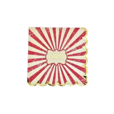 serviettes-circus-vintage | jourdefete.com