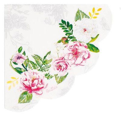 16 Serviettes en Papier - Mariage Baroque | jourdefete.com