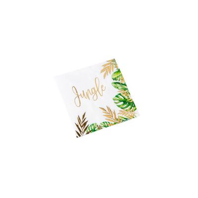 serviettes-jungle-tropical | jourdefete.com