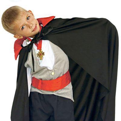 Cape Noire de Vampire pour Enfant - 90 cm