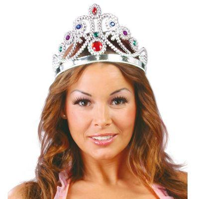 Couronne Argentée de Reine Adulte