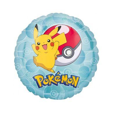 Ballon Hélium Pokémon Rond
