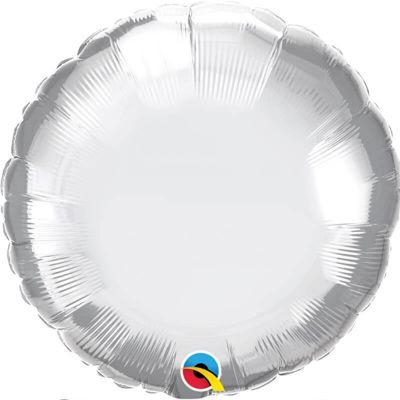 ballon-rond-aluminium-helium-argent | jourdefete.com