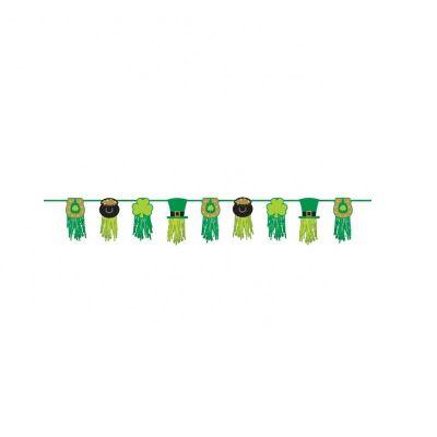 Guirlande de papier de soie de la Saint Patrick