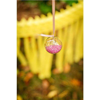 Perle de pluie diamants 110 gr - Rose