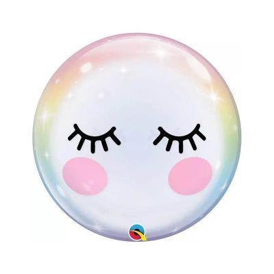 ballon bulle à cils de 56 cm   jourdefete.com
