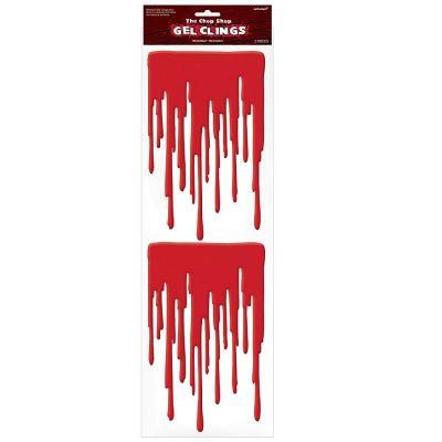 """Décoration collante coulée de sang - Collection """"Zombie"""""""