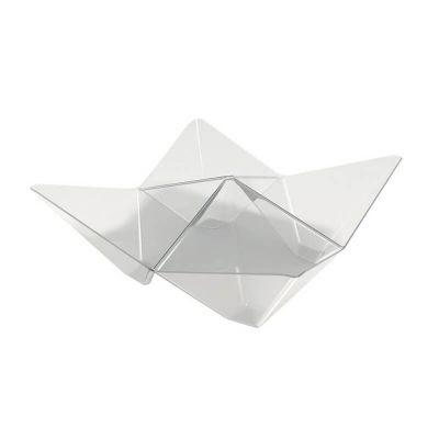 25 Coupelles Verrines Origami - Transparent |jourdefete.com