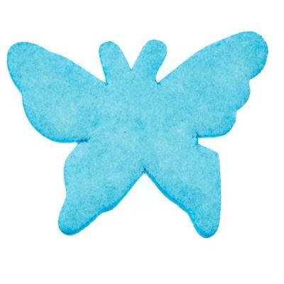 15 Confettis de Table - Papillons Turquoise