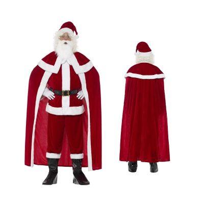 Costume de Père Noël Luxueux - Taille au Choix