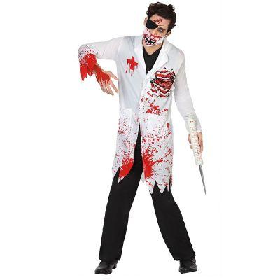 Déguisement Docteur Zombie Sanglant Homme - Taille au Choix