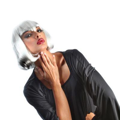 Perruque Colorée Vampirella Femme Blanche