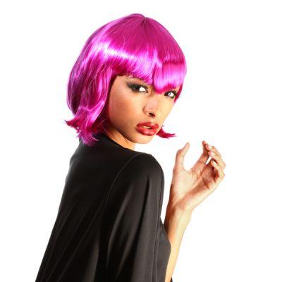 Perruque Colorée Vampirella Femme Violette