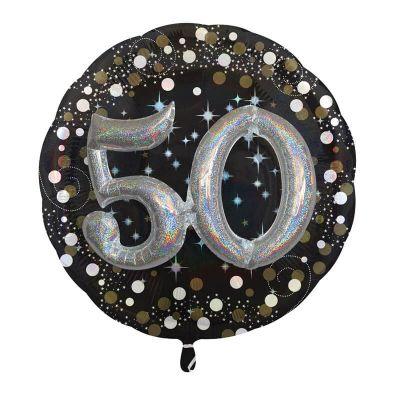 Ballon Métallique Hélium - 50 ans