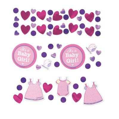 "Trio de Confettis - ""It's a Baby Girl"""