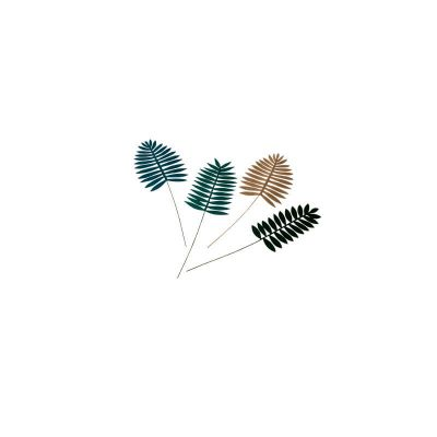 feuilles-velours-or-paillettes-palme-tropical-decoration   jourdefete.com