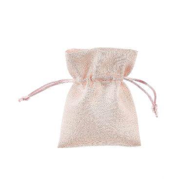 sachet-rose-brillant-ceremonie-dragees | jourdefete.com