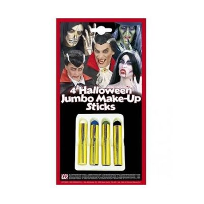 Set de 4 Crayons à Maquillage Halloween