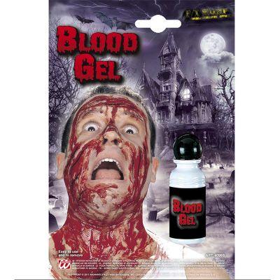 Bouteille de sang en gel
