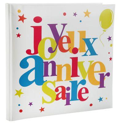 """Livre d'Or """"Joyeux Anniversaire"""" - Multicolore"""