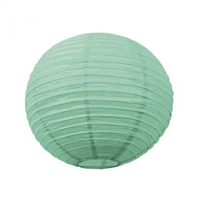 Lanterne Japonaise Vert Menthe - 50 cm