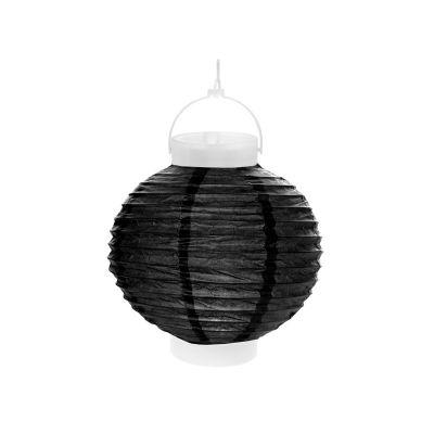 Lampion Lumineux 20 cm - Noir