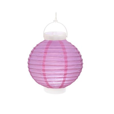 Lampion Lumineux 20 cm - Parme