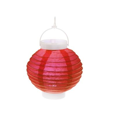 Lampion Lumineux 20 cm - Rouge